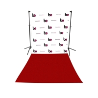 Custom Step & Repeat All-in-One Printed Vinyl Backdrop
