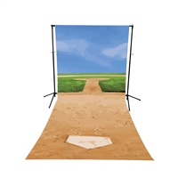 Home Plate All-in-One Printed Backdrop