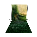 Tree House Floor Extended Printed Backdrop