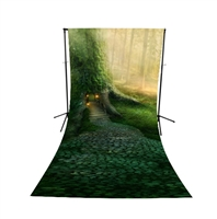Tree House All-in-One Printed Vinyl Backdrop