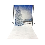 Winter Dream Floor Extended Printed Backdrop