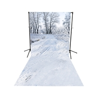 Winter Scene Floor Extended Printed Backdrop