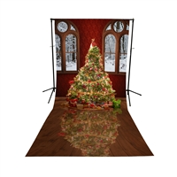 Christmas Ballroom All-in-One Printed Vinyl Backdrop