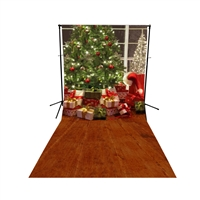 Christmas is Here! Floor Extended Printed Backdrop