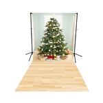 Christmas Morning Floor Extended Printed Backdrop