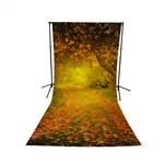 Path Less Traveled Floor Extended Printed Backdrop