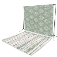 It's a Wrap Floor Extended Printed Backdrop
