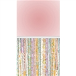 Nearly Blush & Floral Planks Extended Floor Printed Backdrop
