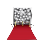 Red Carpet Floor Extended Printed Backdrop
