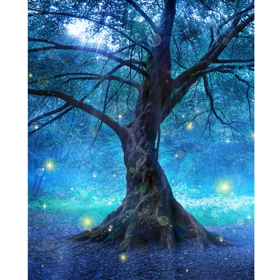 Enchanted Tree Printed Backdrop Backdrop Express