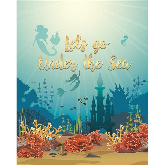 Under the Sea Printed Backdrop