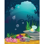Mermaid Cave Printed Backdrop