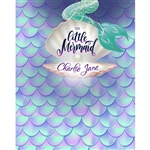 Our Little Mermaid Custom Printed Backdrop