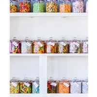 Candy Store Printed Backdrop