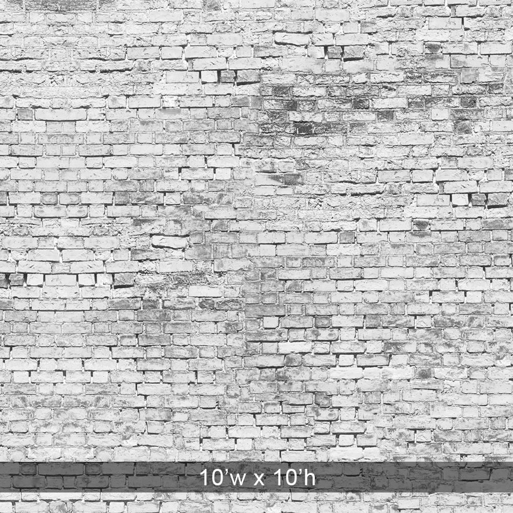 Grunge White Brick