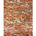 Tattered Red Brick