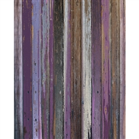 Shades of Purple Wood Floordrop