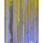 Yellow and Purple Distressed Floordrop