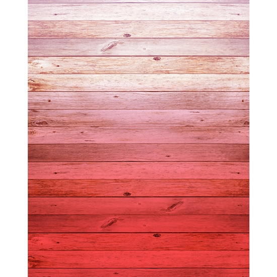 Rose Ombre Wood Planks