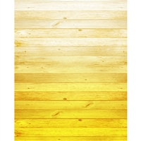 Sunflower Yellow Ombre Wood Planks