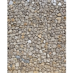 Cobblestone Wall Printed Backdrop