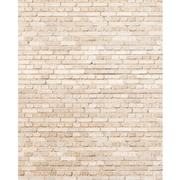 Cream Brick Printed Backdrop