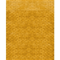 Yellow Brick Road Printed Backdrop