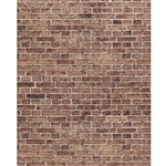 Faded Red Brick Printed Backdrop