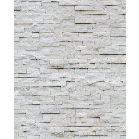 White Stone Printed Backdrop