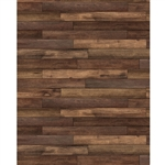 Rustic Hardwood Printed Backdrop