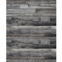 Pewter Planks Printed Backdrop