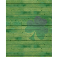 Clover Planks Printed Backdrop