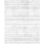 Worn White Planks Printed Backdrop