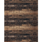 Worn Brown Planks Printed Backdrop