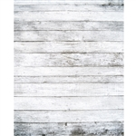 Wide White Planks