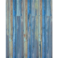 Ocean Blue Planks Floordrop
