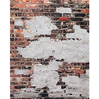 Industrial Brick Printed Backdrop