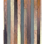 Teal and Oak Planks