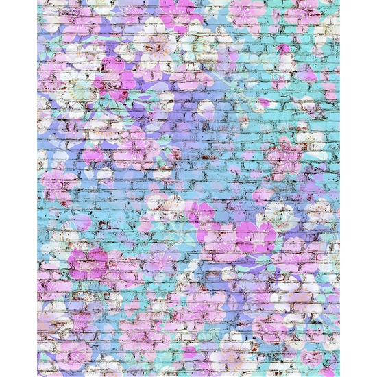 Unicorn Brick Printed Backdrop