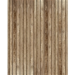 Rustic Cabin Planks Printed Backdrop