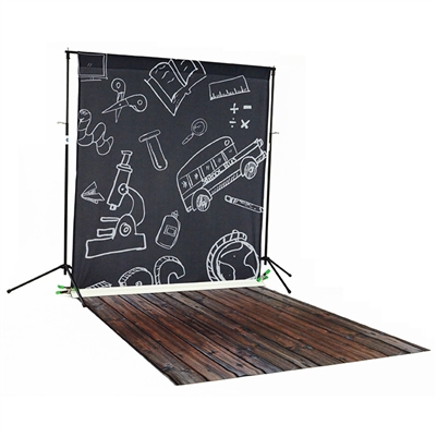 Blackboard & Handscraped Oak Printed / Floordrop Kit
