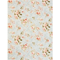 Spring Roses Printed Backdrop