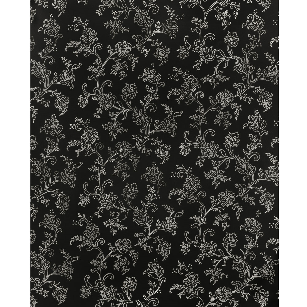 Black and White Vine Printed Backdrop