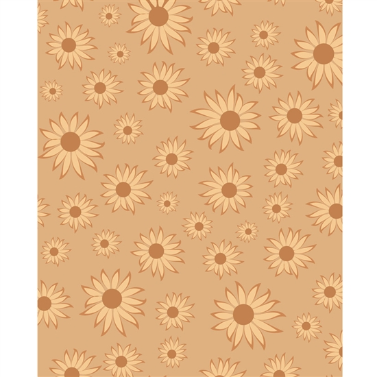 Sunflowers Printed Backdrop