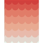Strawberry Ombre Printed Backdrop