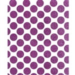 Magenta Glitter Polka Dot Printed Backdrop