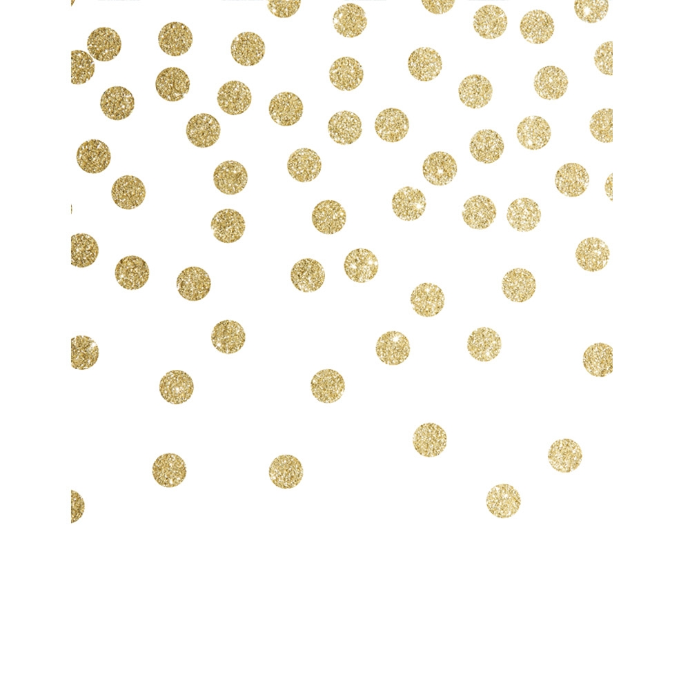 Gold Glitter Sprinkles Backdrop Backdrop Express