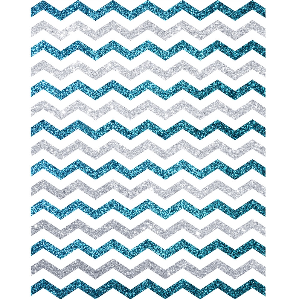 Blue Glitter Chevron | www.pixshark.com - Images Galleries ...