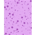 Berry Glitter Stars Printed Backdrop