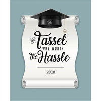 Tassel Hassle Printed Backdrop